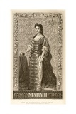 Mary II Giclee Print by J.l. Williams