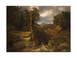 The Gloomy Days of 1776 Giclee Print by George Snr. Inness