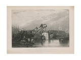 The Diving Bell Used at the Thames Tunnel Giclee Print by Clarkson R.A. Stanfield