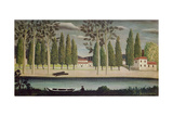 By the River, C.1890 Giclee Print by Henri Rousseau