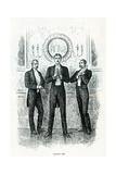 Dancing Men Giclee Print by George L. Du Maurier