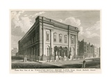 West View of the Theatre Royal, Drury Lane, London, from Great Russell Street Giclee Print by C. John Mayle Whichelo