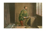 James Hamilton Awaiting the Approach of Regent Moray Giclee Print by J.M.L. Ralston