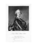 Prince Charles Edward Stuart, Print Made by S. Freeman, C.1849 Giclee Print by Louis M. Tocque