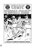 Justice League: Comic Cavalcade No 1 (Black and White) Art