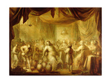 The Marriage at Cana Giclée-Druck von Adriaen Pietersz. Van De Venne