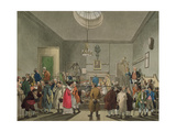 Bow Street Office, from Ackermann's 'Microcosm of London' Giclee Print by T. & Pugin Rowlandson