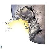 Superman: Exploding Metal Prints