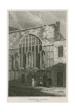 Guildhall Chapel, London Giclee Print by Pieter Jansz. Quast