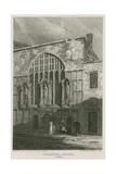 Guildhall Chapel, London Giclee Print by Pieter Jansz. Quast
