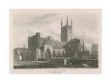 St Saviour's Church, Southwark, Surrey Giclee Print by Pieter Jansz. Quast