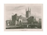 St Saviour's Church, Southwark, Surrey Giclee Print by Pieter Jansz. Quast