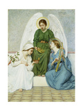 Faith, Hope and Love, 1894 Giclee Print by M.L. Macomber