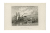 Ballast Dredger Giclee Print by Clarkson R.A. Stanfield
