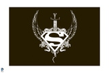 Superman: Superman Logo with Wings, a Sword, and Thorns Prints