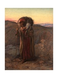 The Lost Sheep, 1864 Giclee Print by William J. Webbe Or Webb