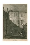 The Savoy Prison, London Giclee Print by Pieter Jansz. Quast