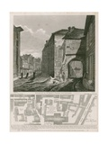 Gateway of St Mary's Priory, Southwark Giclee Print by C. John Mayle Whichelo