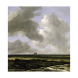 Panoramic View of Haarlem, C.1670 Giclee Print by Jacob Isaaksz. Or Isaacksz. Van Ruisdael
