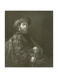 Portrait of a Jew Giclee Print by Rembrandt Harmensz. van Rijn