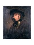 Self Portrait, 17th Century Giclee Print by Rembrandt Harmensz. van Rijn