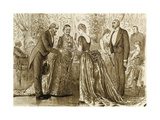 Things One Would Wish to Have Expressed Differently, C.1880 Giclee Print by George L. Du Maurier