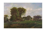 Massachusetts Landscape, 1865 Giclee Print by George Snr. Inness