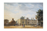 Figures Outside an Elegant Country House Giclee Print by Thomas Malton Jnr.