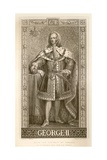 George II Giclee Print by J.l. Williams