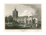 Stepney Church, London Giclee Print by Pieter Jansz. Quast