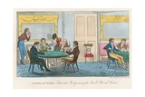 A Game of Whist; Tom and Jerry Among the Swell Broad Coves Giclee Print by I. Robert & George Cruikshank
