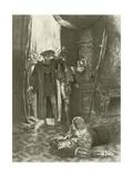 Lucrezia Borgia, Last Act Last Scene Giclee Print by Charles D. Graves