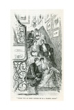 Sitting it Out Giclee Print by George L. Du Maurier