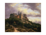 The Castle of Bentheim, Mid 1650s Giclee Print by Jacob Isaaksz. Or Isaacksz. Van Ruisdael