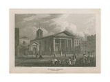 St Paul's Church, Covent Garden Giclee Print by Pieter Jansz. Quast