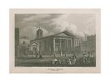St Paul's Church, Covent Garden Giclee Print by Pieter Jansz. Quast