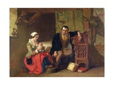 The Origin of the Stocking Loom, 1847 Giclee Print by Alfred W. Elmore
