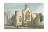 Dutch Church, Austin Friars, 1815 Giclee Print by J. P. Neale