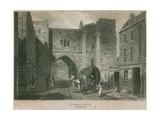 St John's Gate, Clerkenwell Giclee Print by Pieter Jansz. Quast