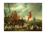 The Meet, Melton Mowbray, 1829 Giclee Print by John E. Ferneley
