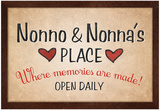 Nonno and Nonna's Place Posters