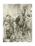 Rigoletto, Act I Scene I Giclee Print by Charles D. Graves