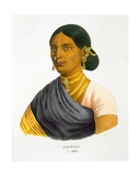 Latchimi, 1827-35 Giclee Print by M.E. Burnouf