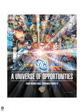 Justice League: DC: A Universe of Opportunities; Green Lantern, Batman, Superman, and Others Prints