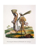 Makers of Domestic Utensils, 1827-35 Giclee Print by M.E. Burnouf