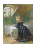 Morning Prayers, 1873 Giclee Print by Charles J. Staniland