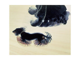 Dynamism of a Dog on a Lead, 1912 Giclée-trykk av Giacomo Balla
