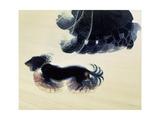Dynamism of a Dog on a Lead, 1912 Giclée-Druck von Giacomo Balla