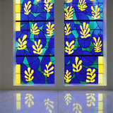 'Tree of Life' Stained Glass Behind the Altar in the Chapel of the Rosary at Vence, 1948-51 Fotografisk trykk av Henri Matisse