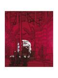 Forecourt, 1975 Giclee Print by Patrick Caulfield